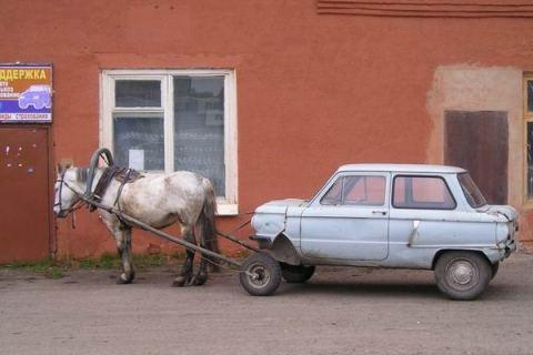one horsepower russian car