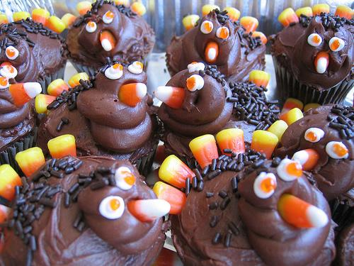 corny turkey treats