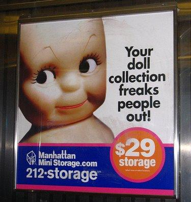 Doll collection freaks people out
