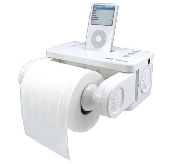 iPoop iPod toilet device