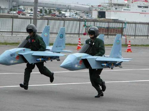 japanese fighter pilots in training