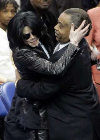 Al Sharpton and Michael Jackson love