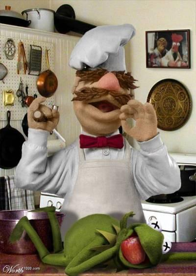 swedish chef Man of many dichotomies