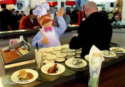 Swedish chef goes cafe