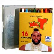 Mr. T Crayons