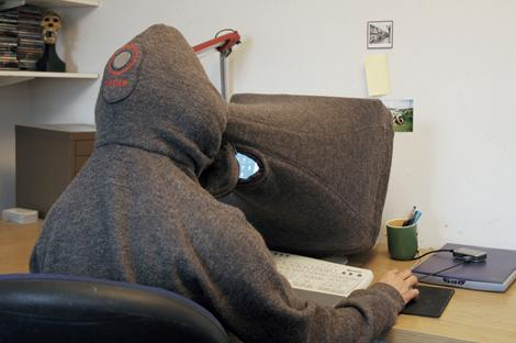 Hoodie for the computer obsessed