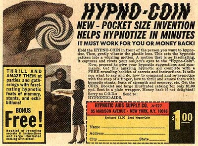 Hypnotize with a coin