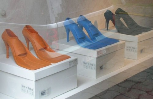 High-heeled Flippes