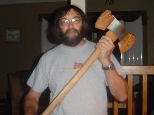 Guy with axe
